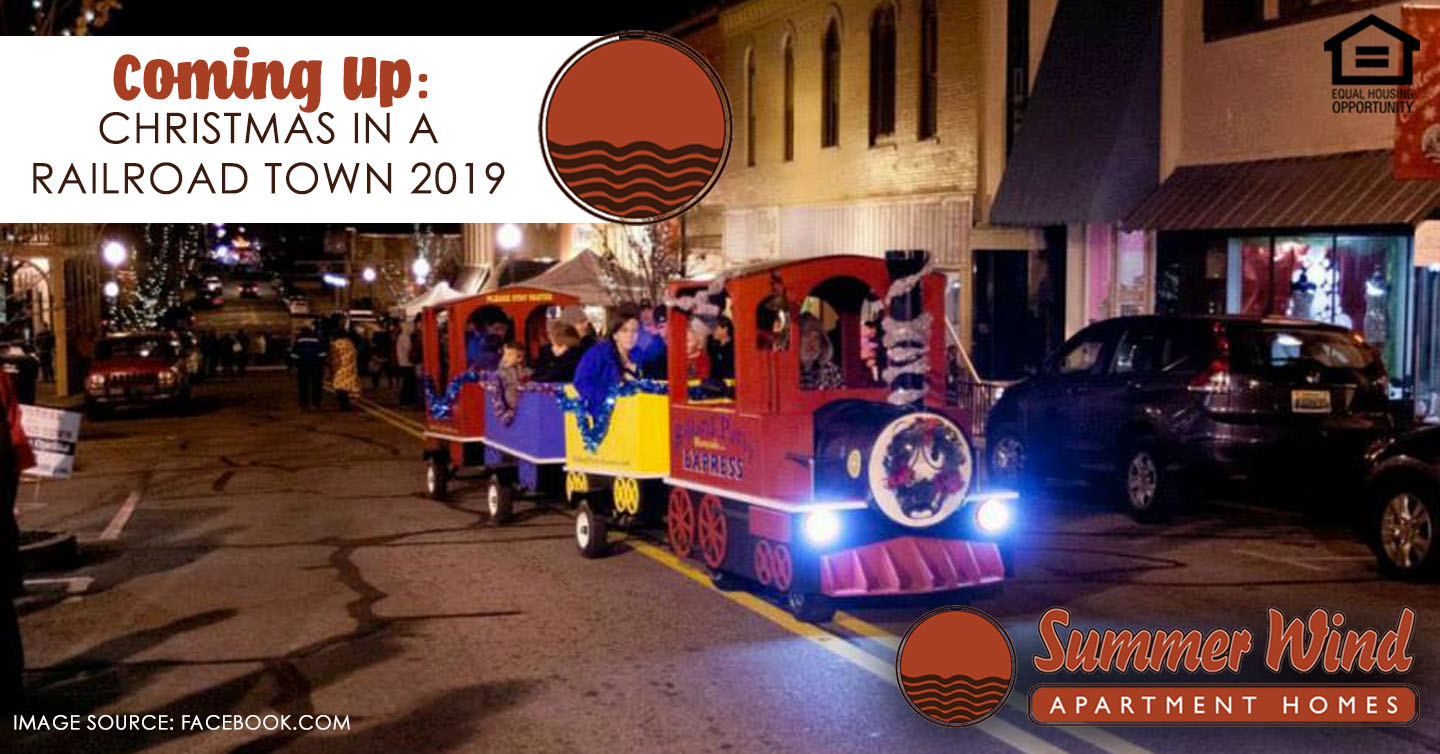 Christmas in a railroad town 2019