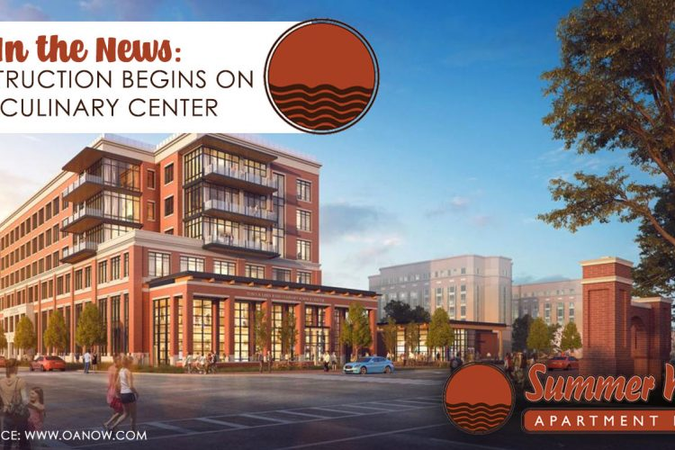 In the News: Construction Begins on AU Culinary Center