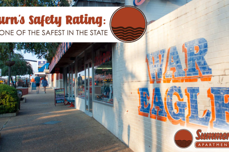 Auburn's Safety Rating: City is One of the Safest in the State