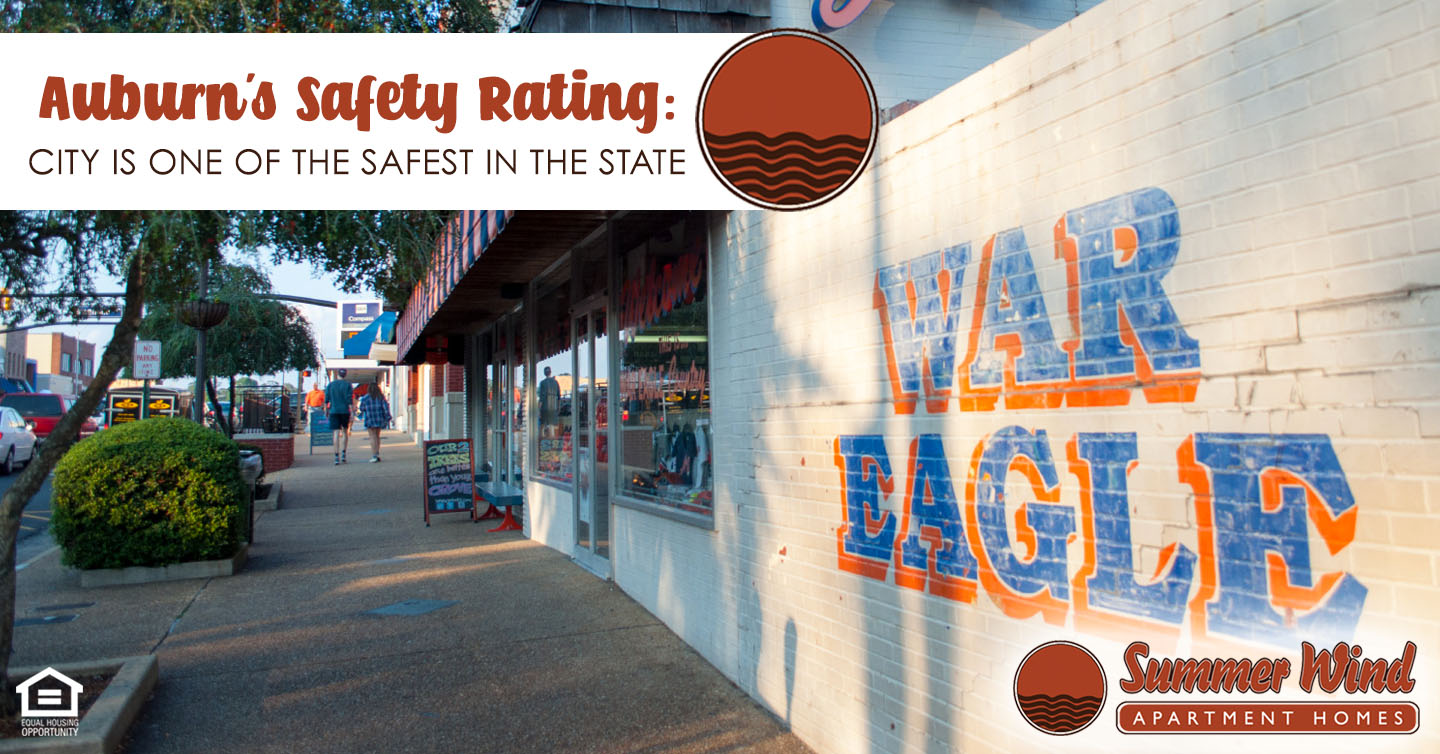 Auburn's Safety Rating