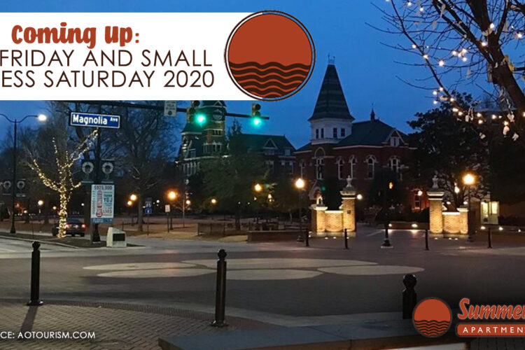 Coming Up: Blue Friday and Small Business Saturday 2020