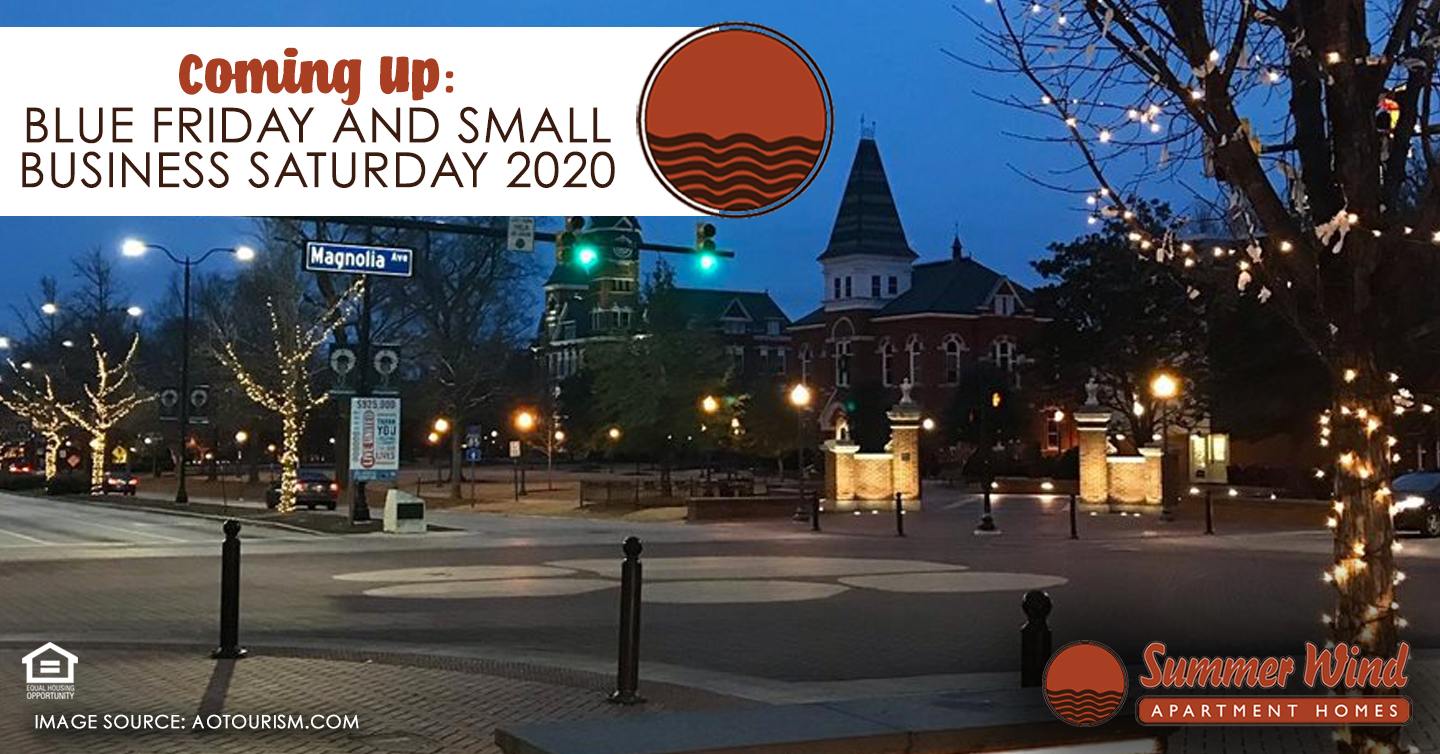 Blue Friday and Small Business Saturday 2020