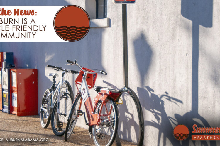 In the News: Auburn is a Bicycle-Friendly Community