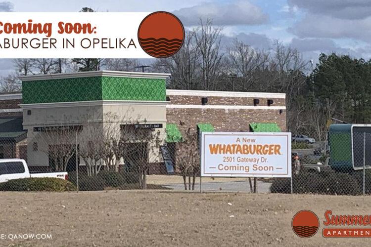 Coming Soon: Whataburger in Opelika