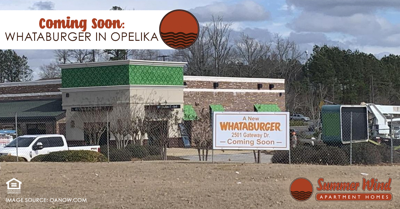 Whataburger in Opelika