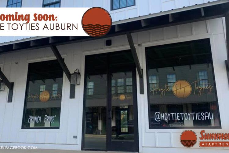 Coming Soon: Hoytie Toyties in Auburn