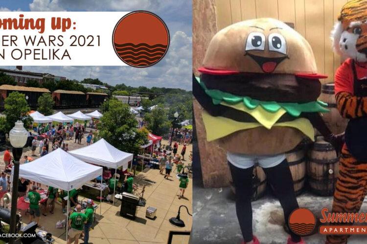 Coming Up: Burger Wars 2021 in Opelika